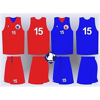 Basketbol Çift Taraflý Forma Þort / ÇT-26