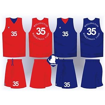 Basketbol Çift Taraflý Forma Þort / ÇT-27