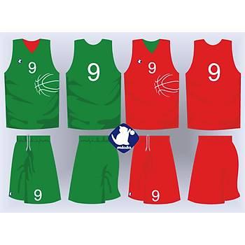 Basketbol Çift Taraflý Forma Þort / ÇT-40