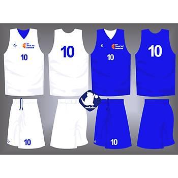 Basketbol Çift Taraflý Forma Þort / ÇT-42
