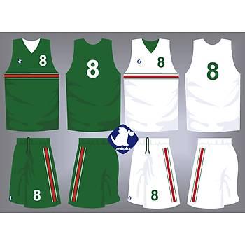 Basketbol Çift Taraflý Forma Þort / ÇT-50