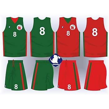 Basketbol Çift Taraflý Forma Þort / ÇT-53