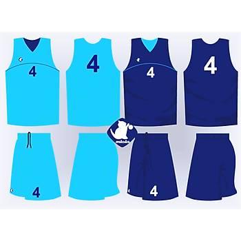 Basketbol Çift Taraflý Forma Þort / ÇT-54