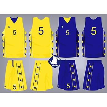 Basketbol Çift Taraflý Forma Þort / ÇT-57