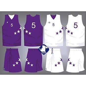 Basketbol Çift Taraflý Forma Þort / ÇT-60