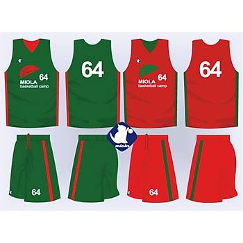 Basketbol Çift Taraflý Forma Þort / ÇT-63