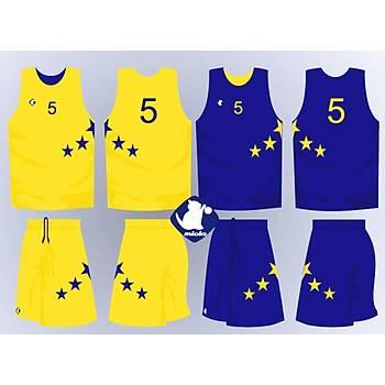 Basketbol Çift Taraflý Forma Þort / ÇT-68