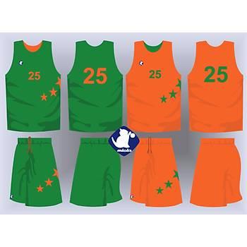 Basketbol Çift Taraflý Forma Þort / ÇT-69