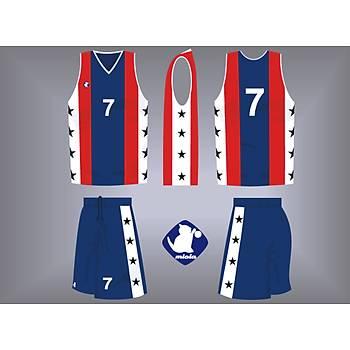 Dijital Basketbol Forma Þort / MFV-13