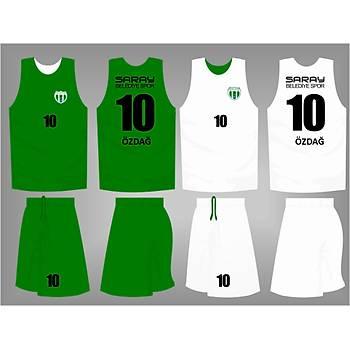 Basketbol Çift Taraflý Forma Þort / ÇT-73