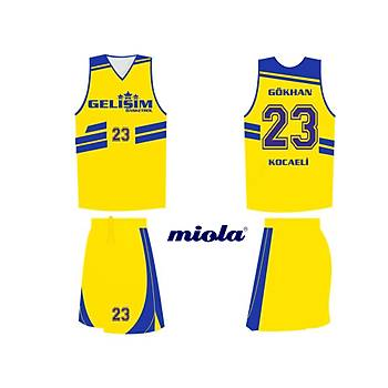 Dijital Basketbol Forma Þort / MFV-52