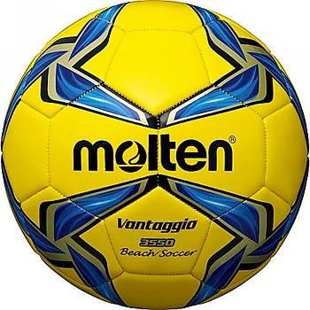 Molten F5V3550-Y 5 Numara Dikiþli Plaj Futbolu Topu