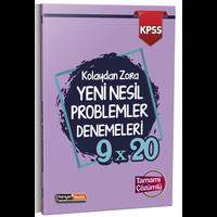 Kariyer Meslek 2021 KPSS Kolaydan Zora 9×20 Yeni Nesil Çözümlü Problemler Denemeleri