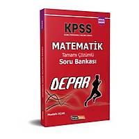 Kariyer Meslek 2021 KPSS Depar Matematik tamamý Çözümlü Soru Bankasý