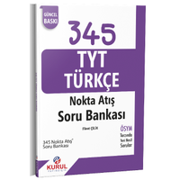 345 TYT Türkçe Nokta Atýþ Soru Bankasý Kurul Yayýncýlýk