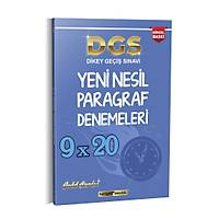 Kariyer Meslek 2021 DGS 9x20 Yeni Nesil Paragraf Denemeleri