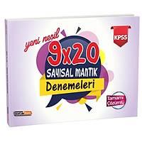 Kariyer Meslek 2021 KPSS Yeni Nesil Tamamý Çözümlü 9x20 Sayýsal Mantýk Denemeleri