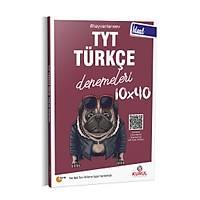 Kurul Yayýncýlýk 2021 TYT Ýdeal 10x40 Türkçe Denemeleri QR Kod Çözümlü