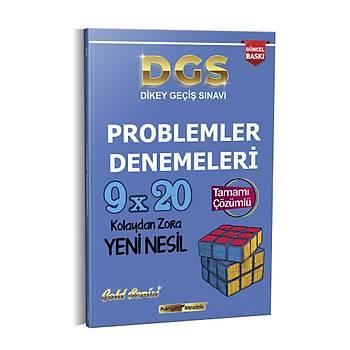 Kariyer Meslek 2021 DGS 9x20 Yeni Nesil Çözümlü Problemler Denemeleri
