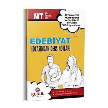 Kurul Yayýncýlýk 2022 AYT Edebiyat Hocasýndan Ders Notlarý
