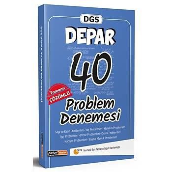 Kariyer Meslek 2021 DGS DEPAR Problem 40 Deneme Çözümlü