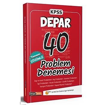Kariyer Meslek 2021 KPSS DEPAR Problem 40 Deneme Çözümlü