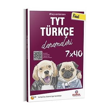 Kurul Yayýncýlýk 2021 TYT Final 7x40 Türkçe Denemeleri QR Kod Çözümlü
