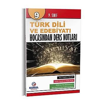 9. Sýnýf Türk Dili ve Edebiyatý Hocasýndan Ders Notlarý Kurul Yayýncýlýk