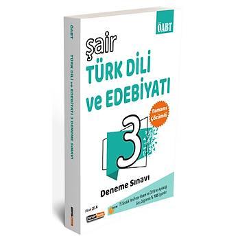 Kariyer Meslek 2021 ÖABT Þair Türk Dili ve Edebiyatý Çözümlü 3 Deneme Sýnavý