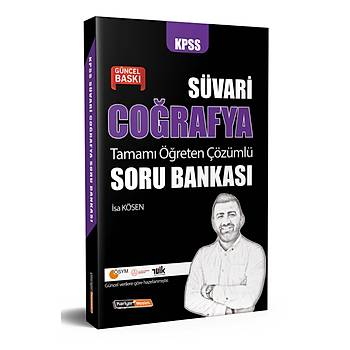 Kariyer Meslek 2022 Süvari KPSS Coðrafya Çözümlü Soru Bankasý