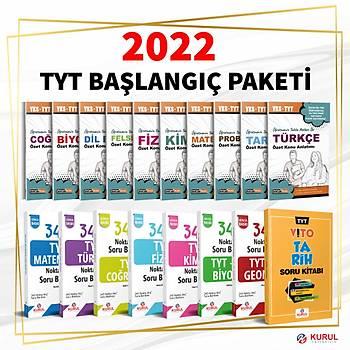 2022 TYT Baþlangýç Seti Konu ve Soru Bir Arada 18 Kitap