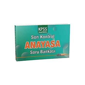 Kariyer Meslek 2021 KPSS Anayasa Son Kontrol Soru Bankasý