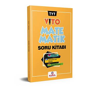 Kurul Yayýncýlýk 2022 TYT Vito Matematik Soru Kitabý