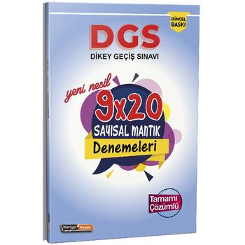 Kariyer Meslek 2021 DGS Yeni Nesil Tamamý Çözümlü 9x20 Sayýsal Mantýk Denemeleri