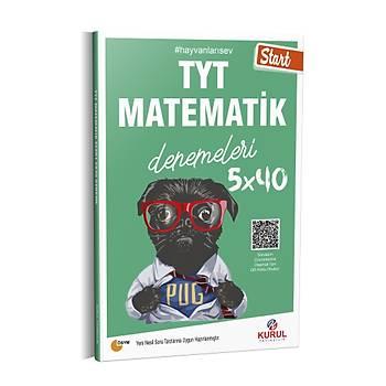 Kurul Yayýncýlýk 2021 TYT Start 5x40 Matematik Denemeleri QR Kod Çözümlü