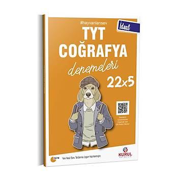 Kurul Yayýncýlýk 2021 TYT Ýdeal 22x5 Coðrafya Denemeleri QR Kod Çözümlü