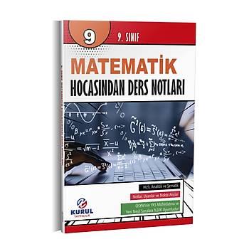 9.Sýnýf Matematik Hocasýndan Ders Notlarý Kurul Yayýncýlýk