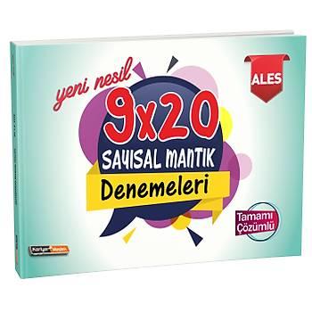 Kariyer Meslek 2021 ALES Yeni Nesil Tamamý Çözümlü 9x20 Sayýsal Mantýk Denemeleri