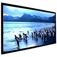 FullScreen 295x183 Fixed Frame Projeksiyon Perdesi 3D Gümüş