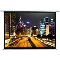 FullScreen 220x125 Motorlu Home Cinema Projeksiyon Perdesi Contrast Gray