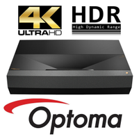 Optoma UHZ65UST Lazer Ultra Kısa Mesafa Projeksiyon Cihazı