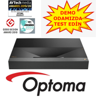 Optoma UHZ65UST Lazer Ultra Kýsa Mesafa Projeksiyon Cihazý