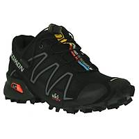 Salomon speedcross 3 w Black/Black/Sýlver Metallic-x