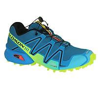 Salomon Speedcross 3 Darkness Blue Methyl Blue Fluo Yellow