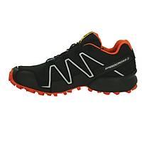Salomon Speedcross 3 Cs Black/Black George Orange-x
