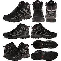 Salomon X Ultra Mid 2 Gtx Black/Black/Alüminyum