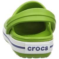 CROCS CROCBAND CLOG PARROT GREEN WHITE