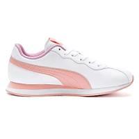 PUMA Turin II Jr White-Pink