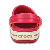 Crocs Crocband Raspberry White