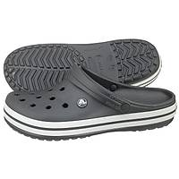 Crocs Crocband Graphite White